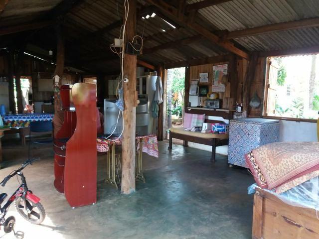 Vendo chácara de 7 hectares com 2 casas 1 cozinha caipira com fogão de lenha - Foto 17