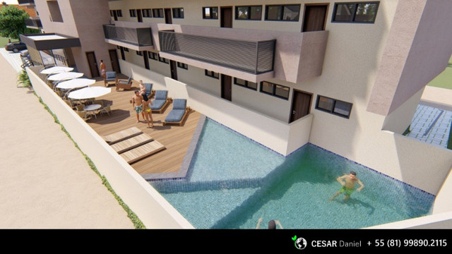 PE   1 Quarto   30m²   Flat em Porto de Galinhas - Foto 8