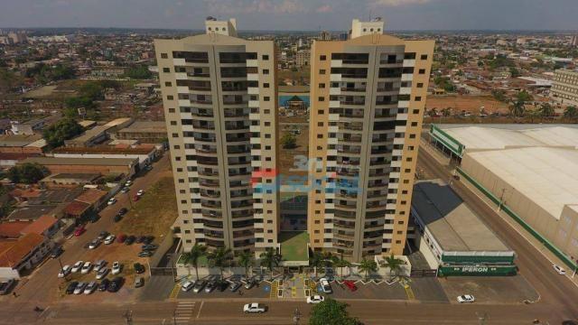 Apartamento com 3 dormitórios à venda - Centro - Porto Velho/RO - Foto 3