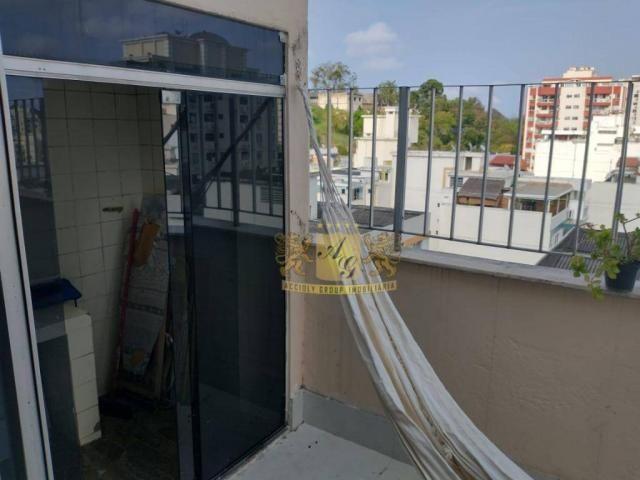Cobertura com 3 dormitórios para alugar, 110 m² por R$ 3.000,00/mês - Icaraí - Niterói/RJ - Foto 15