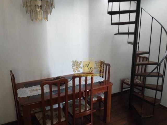 Cobertura com 3 dormitórios para alugar, 110 m² por R$ 3.000,00/mês - Icaraí - Niterói/RJ - Foto 4