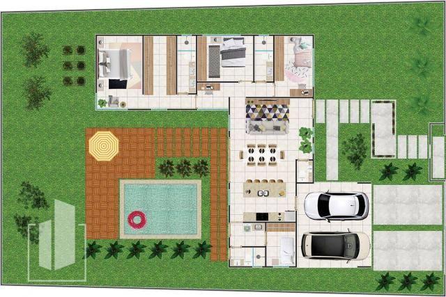 Casa 3 quartos Nova em Alphaville - Foto 3