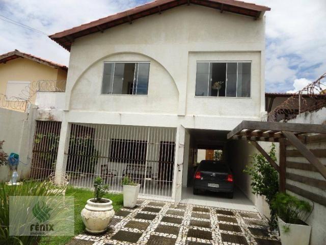 CA0047 - Casa com 3 dormitórios à venda, 202 m² por R$ 650.000,00 - Edson Queiroz - Fortal