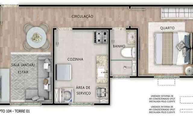 Palazzo Fontana - Fontana di Genova - Apartamento de 2 dorms em Fortaleza, CE - ID3929 - Foto 8