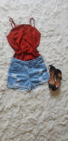 Blusas de alcinha - Foto 2