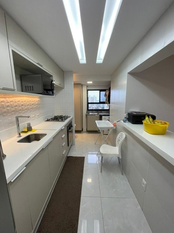 Colina A, apartamento 3/4,suíte,finamente decorado,vista mar,2 vagas - Foto 17