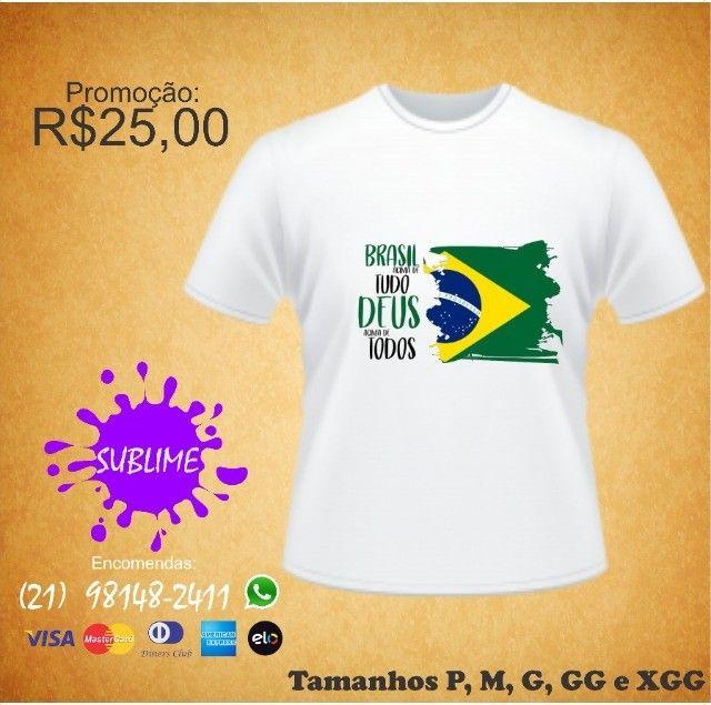 Camisa ProBrasil sublimada - Foto 5
