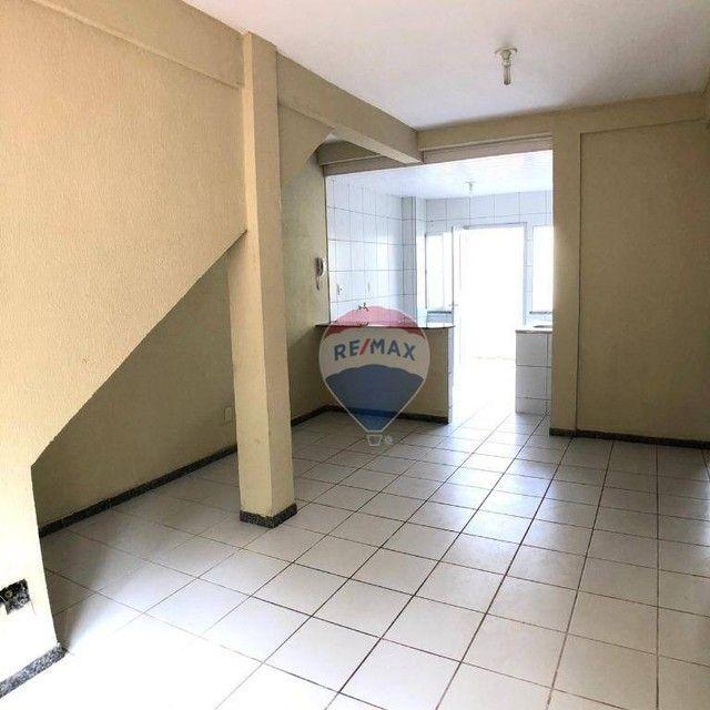 Apartamento com 2 dormitórios para alugar, 53 m² por R$ 790,00/mês - Edson Queiroz - Forta - Foto 7