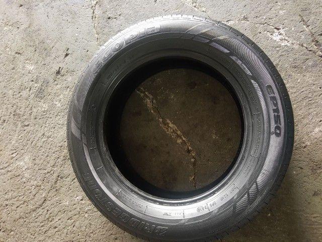Pneus meia vida 185 65 15 Bridgestone - Foto 2