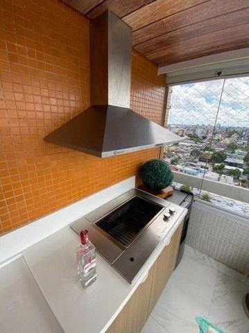 Condomínio Saint Romain, 4 suítes, 3 vagas, 100% mobiliado, moderno e lindo, no Vieiralves - Foto 9
