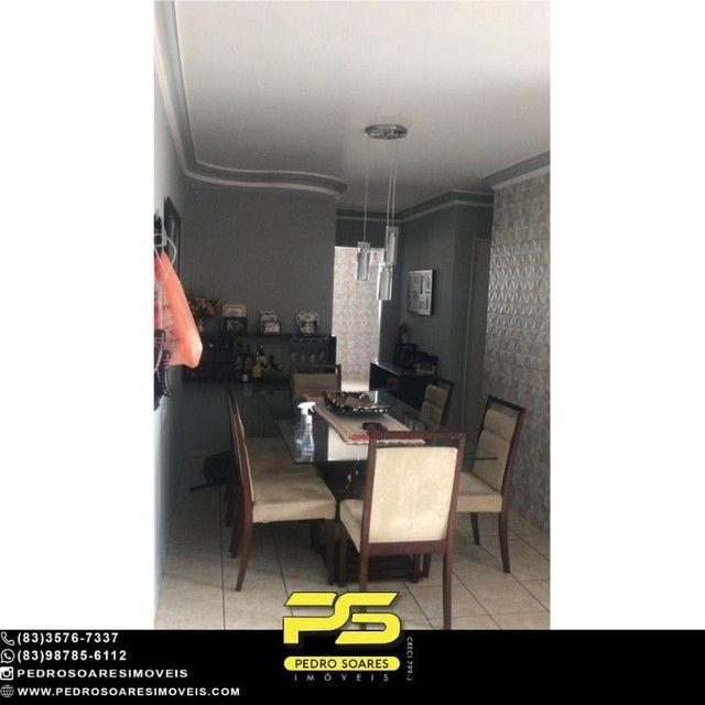 Apartamento com 4 dormitórios à venda, 96 m² por R$ 230.000 - Água Fria - João Pessoa/PB - Foto 4