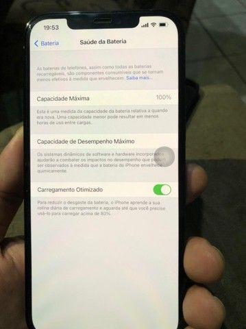 Troco iPhone  12pro max 256g em moto ou carro de meu interesse - Foto 5