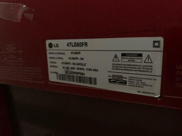 Vendo TV LG 47 polegadas - Foto 6