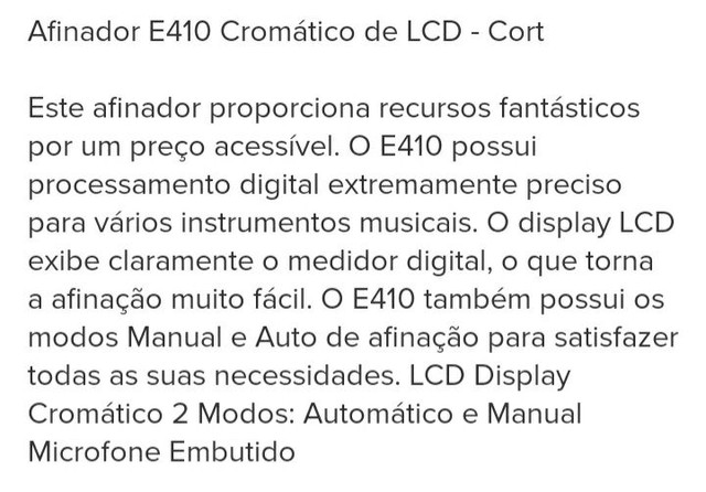 Afinador Violão Guitarra ContraBaixo  - Foto 5