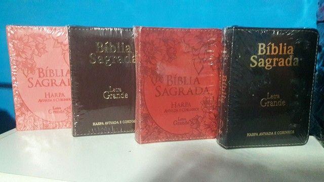 Biblias porte pequeno Letra Grande. - Foto 2