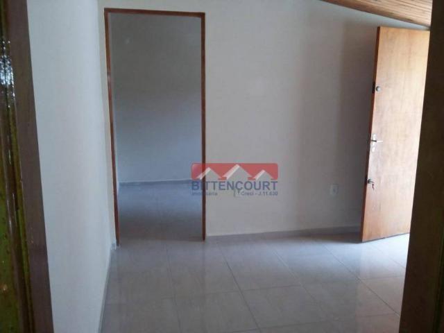 Casa com 1 dormitório para alugar, 50 m² por R$ 700,00/mês - Vila Santa Terezinha - Várzea - Foto 2