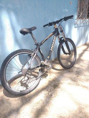Bike aro 26 quadro de alumínio. - Foto 5