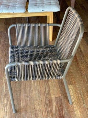 3 cadeiras Franccino novinhas!!! - Foto 4