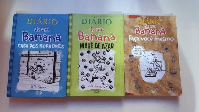 Diário de um banana - Volumes 6, 8 e faça você mesmo