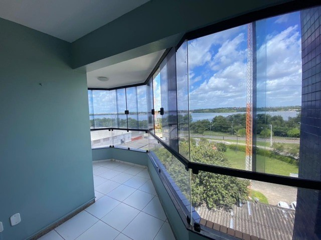 Alugo excelente apto. com 2 quartos e projetados na Areinha - Foto 3