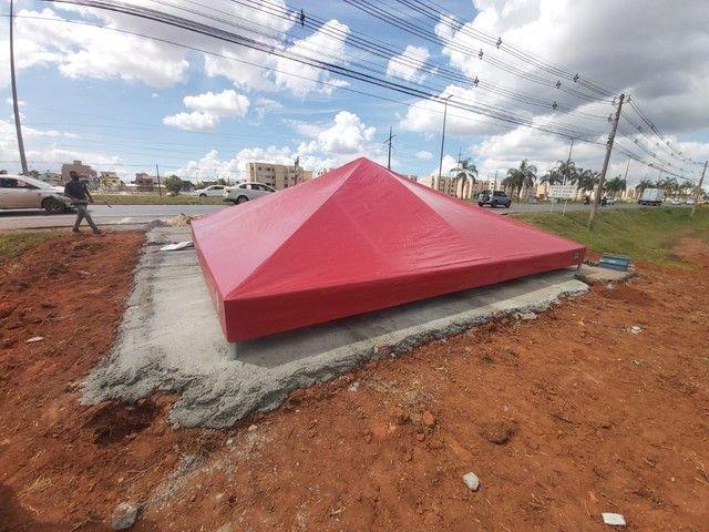 tenda piramidal 6x6 - Foto 3