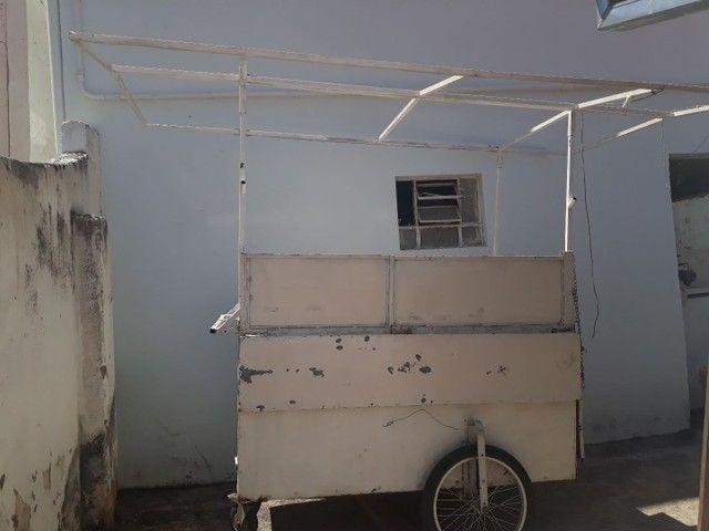 Freezer e carrinho de lanche a venda ou troca por moto - Foto 3