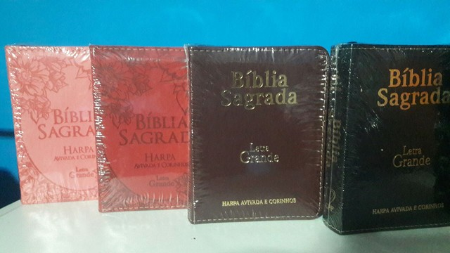Biblias porte pequeno Letra Grande.