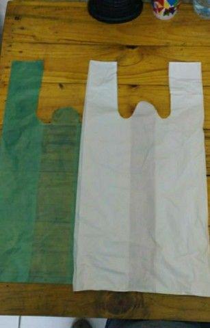 Sacolas recicladas - Mixadas - alta - saco de lixo e bobinas - Foto 3