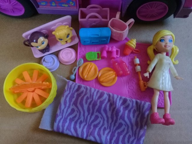 Polly Pocket Trailer Safari  - Foto 3