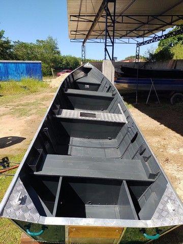 Barcos alumínio novos e usado
