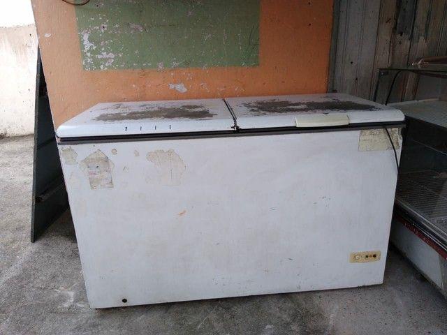 Freezer e carrinho de lanche a venda ou troca por moto - Foto 5