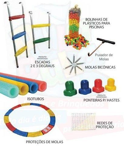 Peças e Acessórios para Manutenção de Camas Elásticas - (Pula Pula)