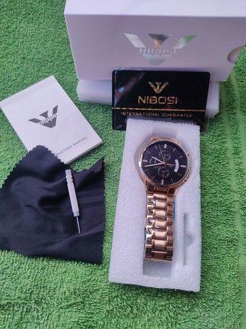 Relógio Nibossi ORIGINAL A PROVA D'ÁGUA!