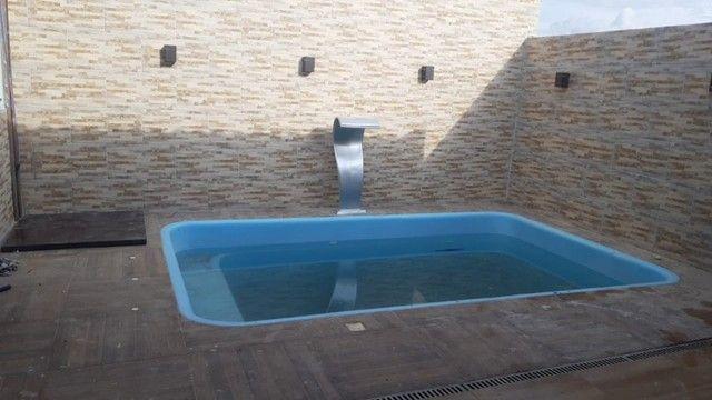 Piscina de fibra alencastro piscinas - 15 anos de garantia