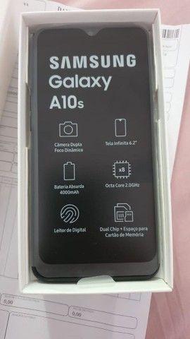 Samsung a10s com 6 meses de uso. Na garantia  - Foto 3