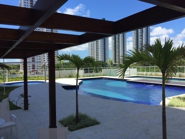 Apartamento 3/4 em Patamares, 2 vagas, vista bosque livre - Foto 4