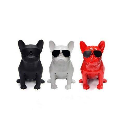 Caixa de Som Bluetooth Z13 Bulldog Francês Cachorro Portátil 10w Fm - Foto 2