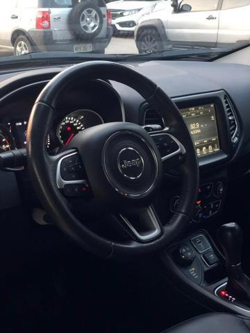 Compass 4x4 Diesel - 2017- Único dono , na garantia de fábrica. Aceito troca, financio - Foto 10