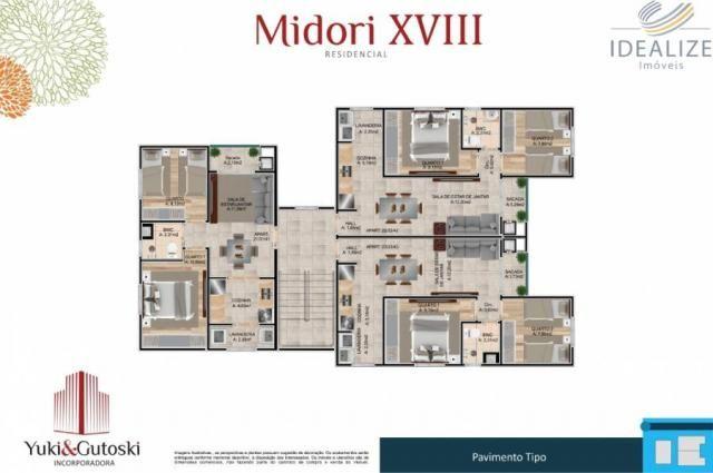 Apartamento à venda com 2 dormitórios em Afonso pena, São josé dos pinhais cod:2060496 - Foto 14