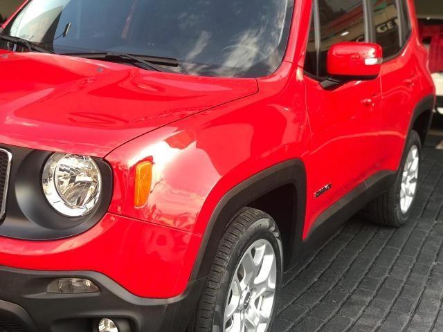 Jeep Renegade Londitude 2.0 Diesel Vermelho 2015 2016 - Foto 4