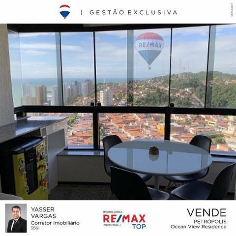 Apartamento Ocean View - Petrópolis com 75m2 com 2 quarto (1s) e 2 VG - Foto 4