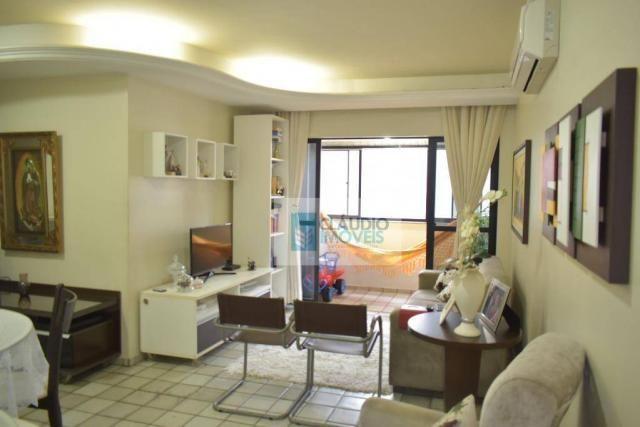Apartamento com 3 quartos a venda em maceio, jatiuca