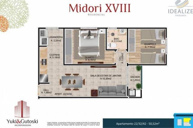 Apartamento à venda com 2 dormitórios em Afonso pena, São josé dos pinhais cod:2060496 - Foto 16