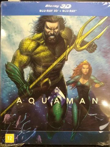 Steelbook Aquaman 3D blu-ray - CDs, DVDs etc - Petrópolis