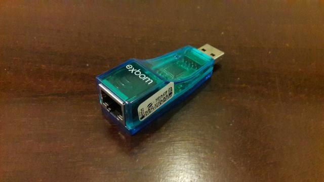 Adaptador USB 2.0 Placa Rede Externa RJ45