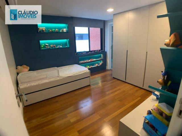 Apartamento com 4 dormitórios à venda, 203 m² por r$ 1.600.000 - jatiúca - maceió/al - Foto 11