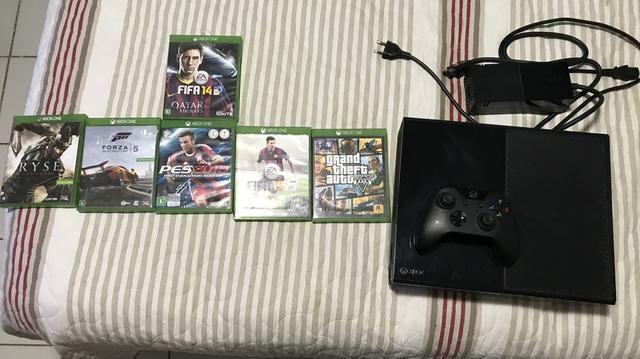 Xbox one 500Gb, com 6 jogos