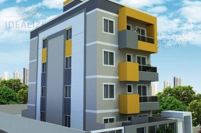 Apartamento à venda com 2 dormitórios em Cruzeiro, São josé dos pinhais cod:1927620 - Foto 3