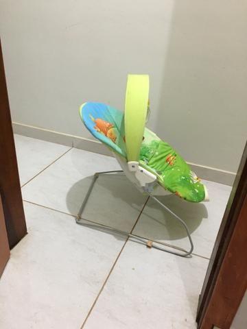 Cadeira de descanso vibratória e toca música - Foto 2