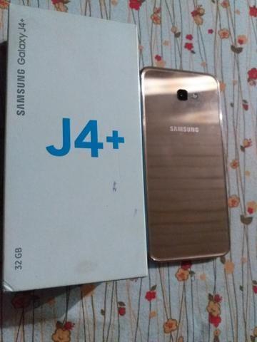 Vendo j4+ dourado completo - Foto 5